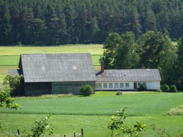 Hofstelle in Alleinlage, mit gr. Scheune, Schweine- und Rinderstall; Pferdehaltung möglich!!, 92711 Parkstein, Haus