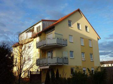Barrierefreie 3 Zi.-Whg mit ansprechender Aufteilung, Tiefgarage und Eckbalkon, 92637 Weiden, Etagenwohnung