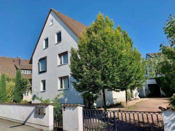 Ruhige Lage! Frei stehendes Zwei- oder Dreifam.-Haus mit Garage, Balkon und Freisitz, 92637 Weiden, Mehrfamilienhaus