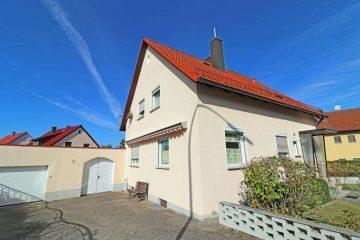 Top Lage, Dach, Fenster und Heizung erneuert! Frei stehendes Einfam.-Haus mit Garage u. Garten, 92708 Mantel, Einfamilienhaus