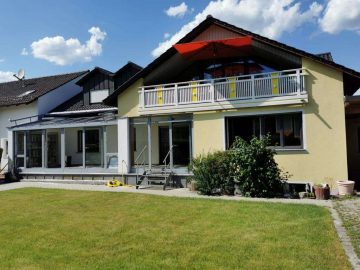 Top Zustand! Großzügige 4,5 Zi.-Wohnung im EG mit Gartennutzung, Wintergarten und EBK, 92665  Altenstadt, Erdgeschosswohnung